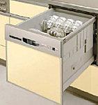 腰をかがめることなく、ラクに食器が出し入れできる引き出し型。※イメージ写真