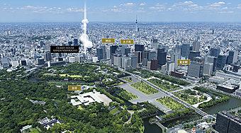 現地周辺航空写真(平成28年6月撮影)