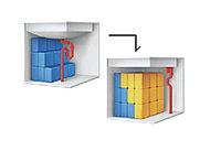 排水管のカタチをシンプルにして、位置を奥にすることにより、収納スペースを最大約50%広くしました。(当社従来比)