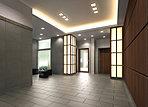 【和モダン】 住まう方を優しく迎え入れる、品格が息づいたエントランスホール。