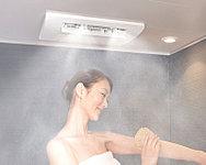 美肌効果や疲労回復を促進するミストサウナを装備。「浴室暖房・浴室乾燥・衣類乾燥・涼風」の4つの機能も充実。