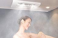 細かい霧状の温水ミストが浴室全体に広がり全身を包み込んで体の芯から手足の先まで、しっかり温まります。
