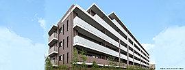 阪神間モダニズムの気風を受け継ぐ、シンプルでモダンな建築美を追求。中層には、水平ラインを設け、二層構成の外観デザインを創出。