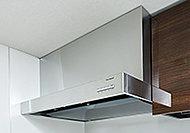 油汚れもサッと拭くだけでキレイになる高品位ホーローを整流板に採用。整流板は取外し可能で丸洗いもできます。