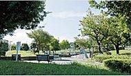 十日市場中里公園 約50m(徒歩1分)