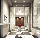 住まう方、訪れる方を迎えるエントランスホールは、フレンチモダンテイストの洗練されたデザインを随所に採用。テーマカラーの「ショコラ」をアクセントとした床タイルに加え、ソファー、シャンデリアなど多彩なインテリアの数々に彩られた優美な迎賓空間です