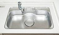 低騒音仕様のシンクで、水はね音や振動音を軽減します。早朝や深夜の調理の際も静かに利用できます。