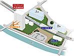 多賀城駅周辺再開発事業計画概念図