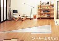 リビング・ダイニングには足元から部屋全体を暖める床暖房を設置。空気を汚さず、ホコリの舞い上げもないクリーンな暖房です。