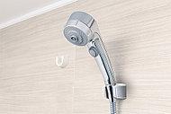 高速回転するノズルにより、心地よい刺激を実現。シャワーだけでも、入浴したときと同じように体がポカポカ温まります。
