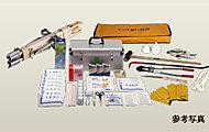 災害時に備え、建物内に非常用備品類など、万一の際に必要なアイテムをストックする予定です。