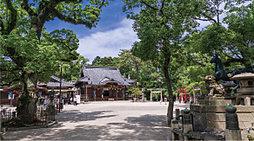 諏訪神社 約370m(徒歩5分)