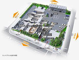 敷地の四方すべてが道路に面しているため、独立性が高く開放的。周囲の建物の影響も受けにくく、日照や通風に恵まれた快適な住環境を望めます。総137邸が集うビッグコミュニティならではの暮らし心地をお届けするため、暮らしに役立つ共用施設を充実。