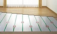 ガス温水式床暖房(TES)をリビングに設置。※参考写真