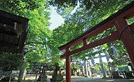 杵築神社 約670m(徒歩9分)