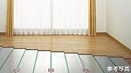 ほこりやダニを舞い上げず、足元から部屋全体をムラなく暖めることができます。