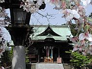 桜神宮 約550m(徒歩6分)
