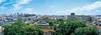 眺望写真(現地地上6階相当から撮影) ※眺望は住戸によって異なり、将来に渡って保証されるものではありません。(2014年4月撮影)