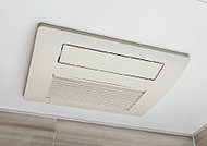 換気・防カビ・衣類乾燥など多彩に使える便利な浴室暖房乾燥機を採用しました。