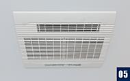 カビの発生を抑えられ、スピーディ&低コストの浴室換気暖房乾燥機を設置しました。