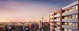 広がる景色、ひらける未来、明日という眺め。穏やかな住宅街に面する立地特性にふさわしい地上13階建ての建築で誕生する「センチュリー青砥」。眼前に広がる青い空と、遮るものなく一望する大都市の風景。まさに日常に感動が息づく暮らしの舞台です。