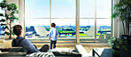 <現地12階相当から南西方向の眺望(2015年3月撮影)に完成予想CGを合成したもので実際とは異なります>