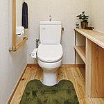 各居室間の段差をなくしたバリアフリー仕様。トイレ・お風呂には転倒事故を防ぐため、しっかりと体を支える手すりを設置。