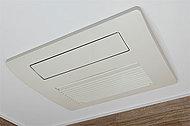 ガス温水式でパワフル&スピーディーに衣類乾燥・浴室暖房をこなす浴室暖房乾燥機。