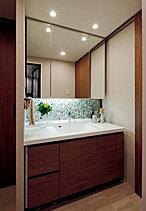 気持ちまでキレイに整える清潔でホテルライクな空間。