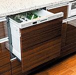 お湯でしっかり洗う除菌洗浄タイプ。小音仕様で省エネ性も高い家事の強い味方です。