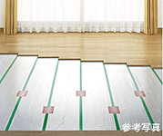 空気乾燥しにくい「TES温水式床暖房」