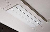 エアコンを天井に埋め込む仕様のため、出っ張りが少なく、居室の開放感が高まります。※一部タイプのみ
