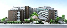 800m2超の中庭(オアシスガーデン)をやさしく包む、洗練された3棟構成のレジデンス。明るく落ち着いた佇まいで、新しい横浜ライフを育みます。