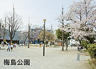 梅島公園 約150m(徒歩2分)
