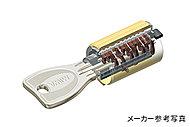 万一に備えて大阪ガスセキュリティサービスが住戸の玄関キーを預からせていただきます。