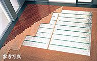 主要な壁・床の鉄筋は、コンクリート内に鉄筋を二重に配したダブル配筋を採用。ひび割れを起こしにくく耐震性を高めます。