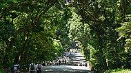 明治神宮 約2,300m