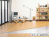 足元から身体を暖める床暖房は、温風暖房とは異なり、ホコリを舞い上げる心配がありません。