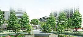 「ウェリス 南持田」は、大規模な敷地を擁するプロジェクトだからこそ、美しい都市景観を創造するランドスケープデザインを追求。敷地周囲を彩る樹木は、文学の街松山にふさわしく、瑞々しく季節を装い、詩情さえも誘います。
