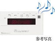 音楽プレイヤーをキッチンリモコンに接続すると、バスルーム内で音楽や音声プログラムを楽しむことができます。