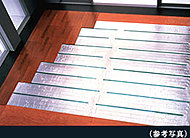 リビング・ダイニングには東彩ガスのTES温水床暖房を採用。足元から心地よく室内を暖め理想的といわれる『頭寒足熱』を実現する暖房システムです。