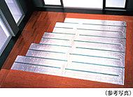 リビング・ダイニングには、西部ガスのESEL温水床暖房を採用。