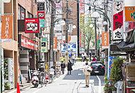 杉大門通り商店街 約230m(徒歩3分)