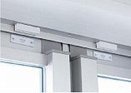 全住戸の玄関ドアと一部の窓に防犯センサーを設置。異常を感知すると、警備会社に自動通報されます。