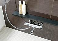 取り回しのしやすい大きさで、小物等を置くのに便利なカウンター。取り外して洗うこともできます。