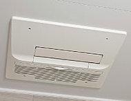 洗濯物の乾燥にも便利な浴室暖房乾燥機