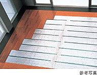 リビング・ダイニングに温水を循環させて部屋を暖めるTES温水式床暖房を標準装備。ホコリを巻き上げる風を起こさないクリーンな暖房システムです。