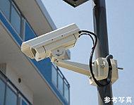 共用スペースに防犯カメラ9台(エレベータ内含む)を設置し、防犯効果を高めています。