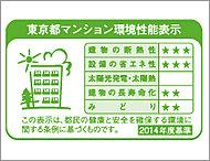 建築主が東京都に提出する建築物環境計画書の取り組み状況に基づき、5項目について3段階で評価されます。