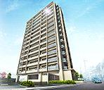 街並みに美しく映える、地上14階建レジデンス。ライオンズ那覇三原グランフォート、誕生。